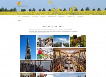 Fenland Tourism Website