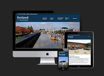 Fenland for Business website redesign