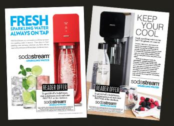 Soda Stream Flyers