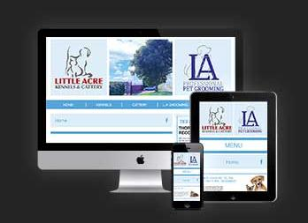 Little Acre Kennels & Cattery Website
