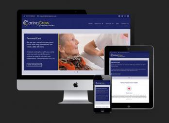 Caring Crew website